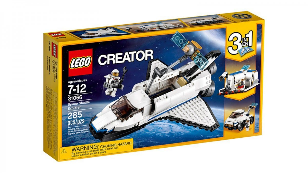 LEGO Creator Space Shuttle Explorer 3in1