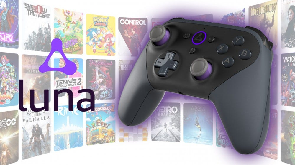 Amazon Luna gaming service