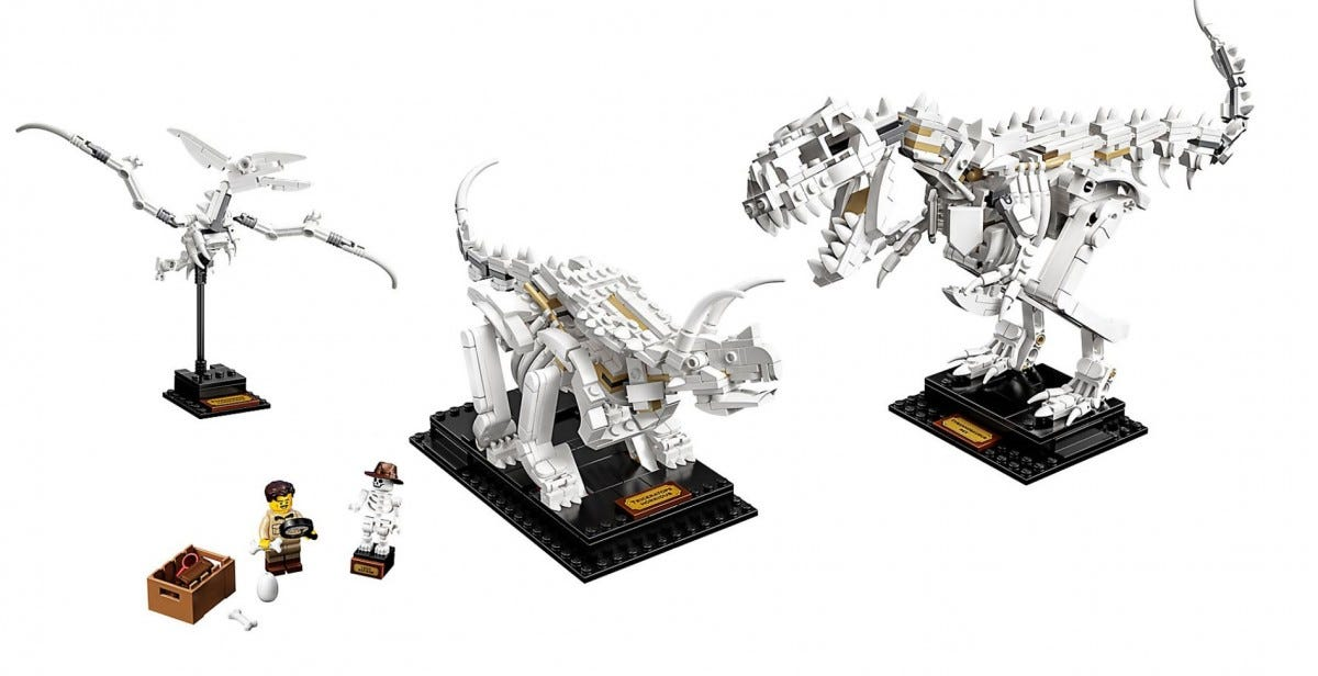 The LEGO Dinosaur Museum Set.