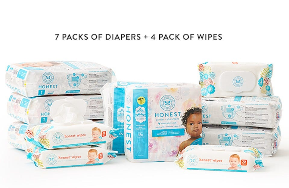 Honest Diapers Subscription Box
