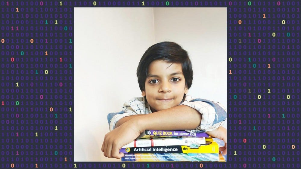 Kautilya Katariya is the world's youngest qualified computer programmer