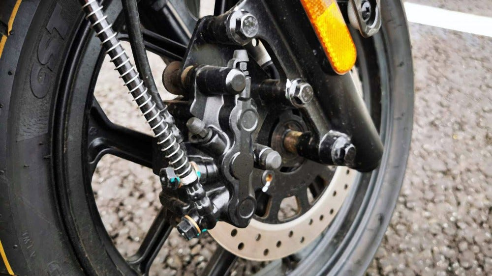 niu scooter front brakes