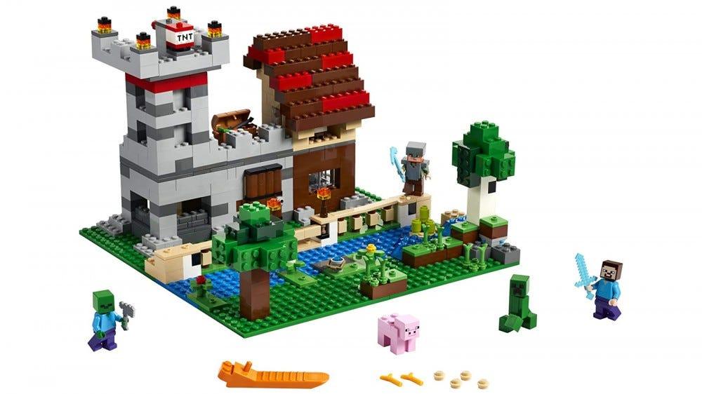 LEGO Minecraft క్రాఫ్టింగ్ బాక్స్ 3.0 సెట్