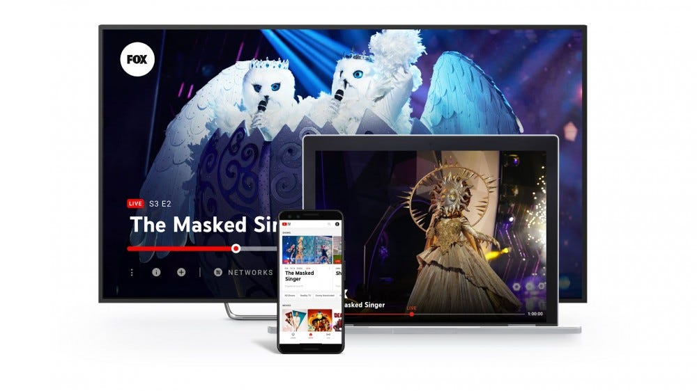 Play YouTube TV on a smart TV