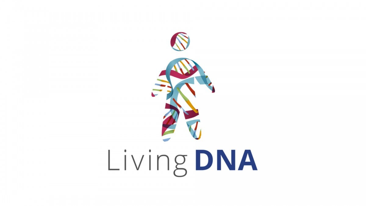 The Living DNA Logo.