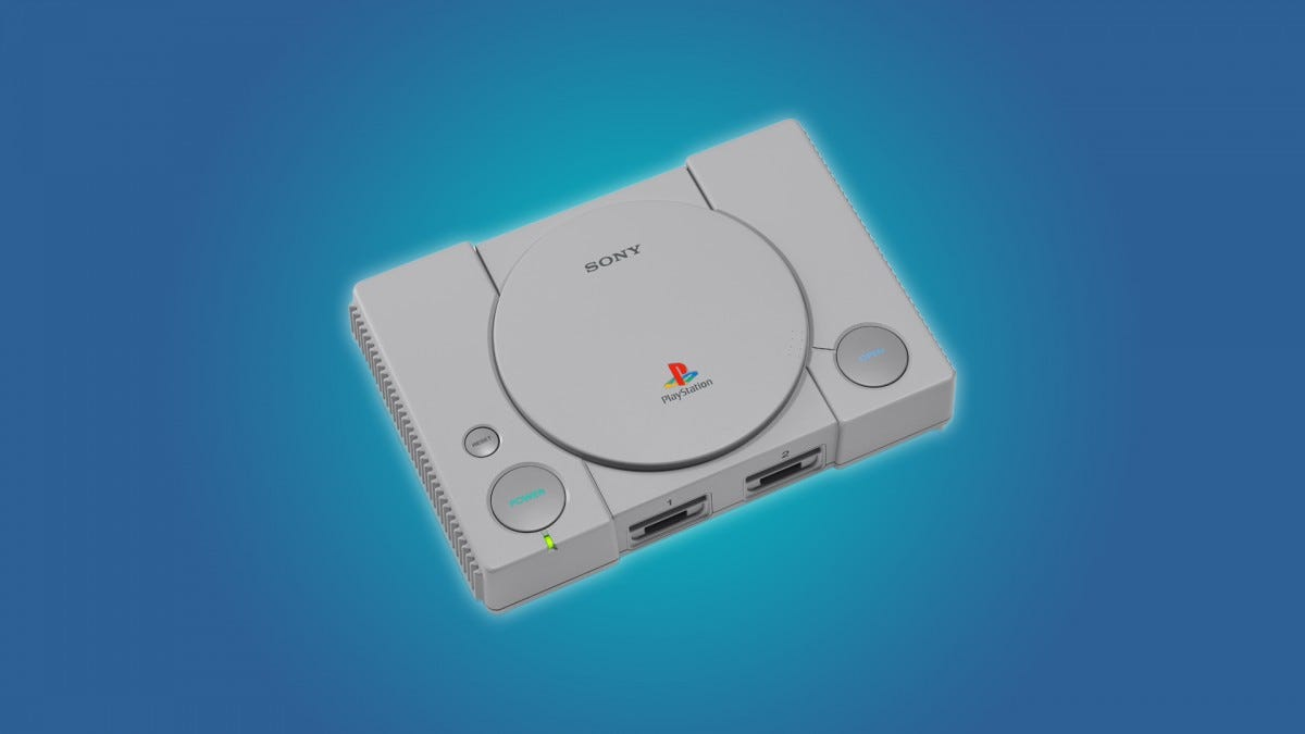 The PlayStation Classic console