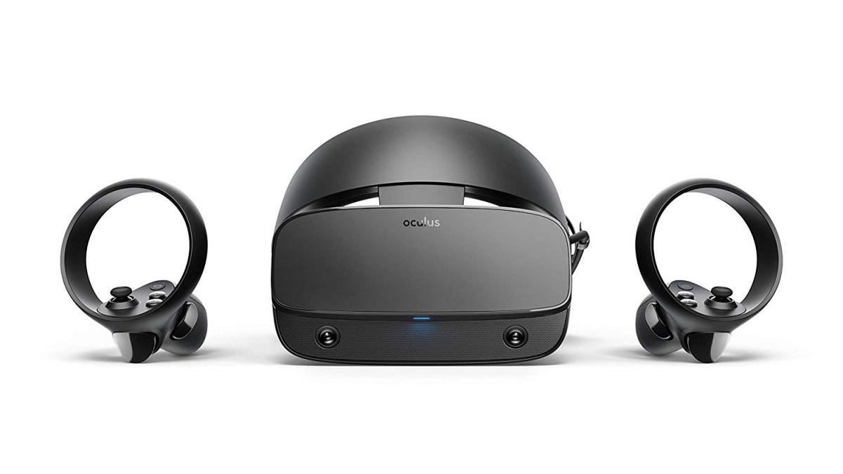 Render of Oculus Rift S