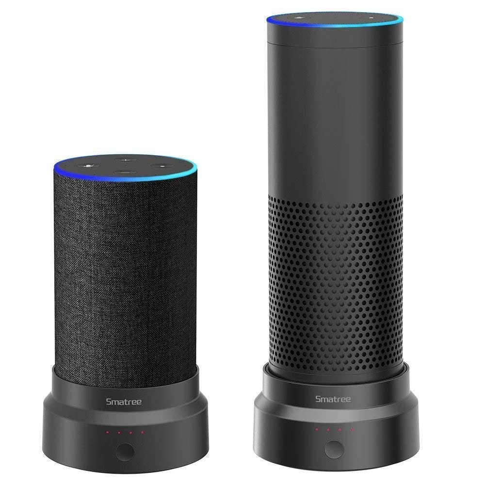 smatree, alexa, echo, amazon, battery, base, battery base,