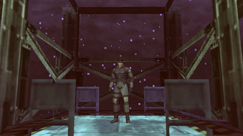 screenshot from Metal Gear Solid