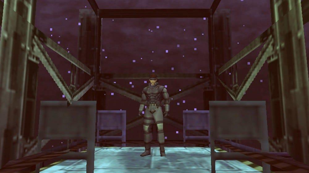 screenshot from Metal Gear Solid