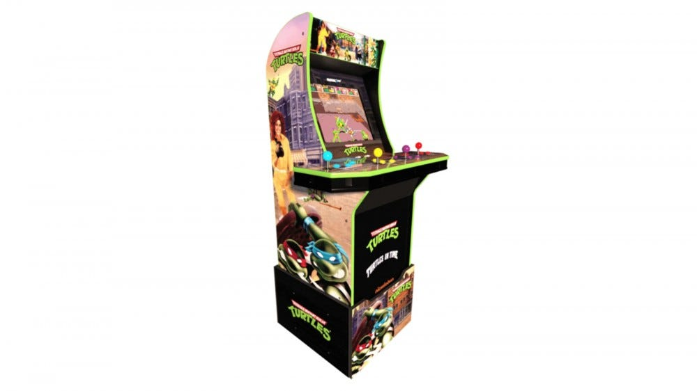 Arcade1Up Teenage Mutant Ninja Turtles cabinet