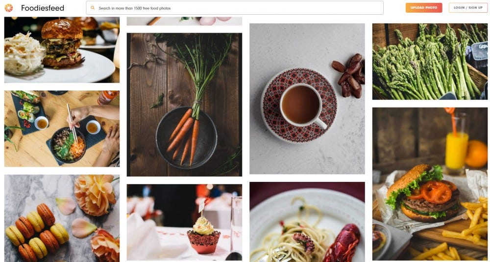Foodiesfeed stock images