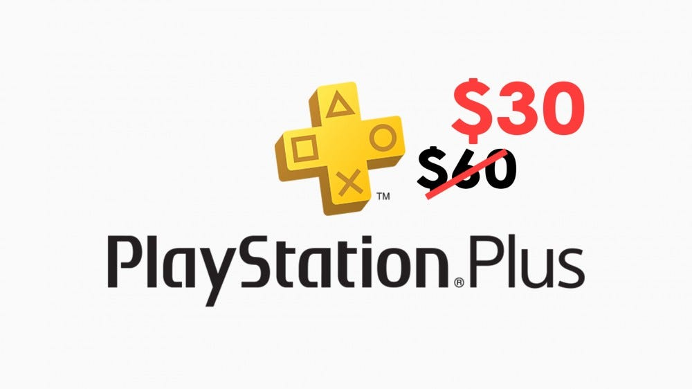 An illustration of the PlayStation Plus logo.