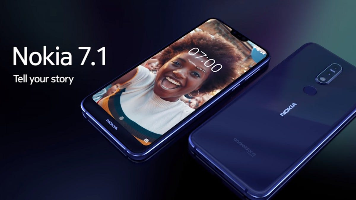 nokia, 7.1, nokia 7.1, mid-range, android, smartphone, notch,