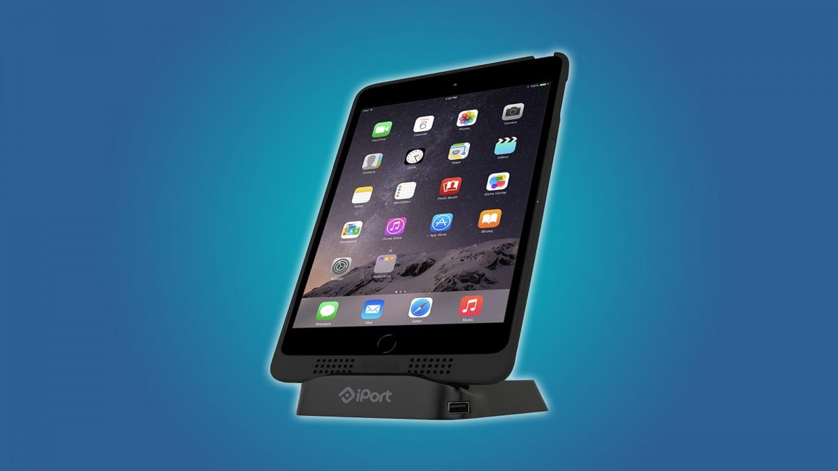 The iPort Charge Case and Stand is an excellent add-on for your iPad.