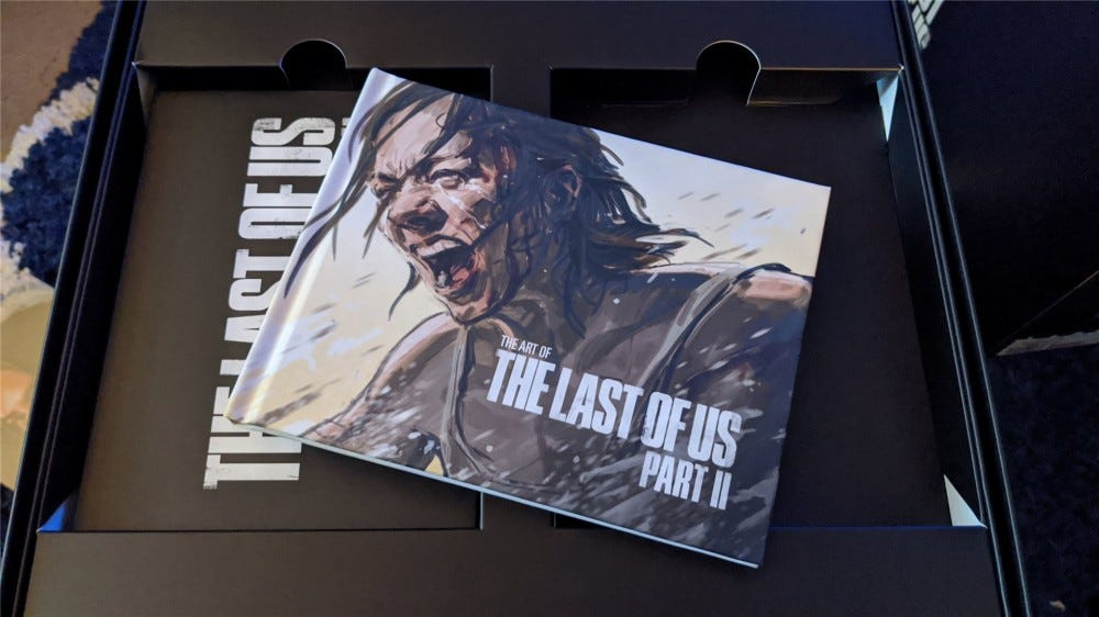 The Last of Us Part II Collector's Edition mini art book