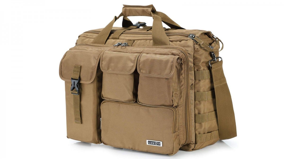 The Lifewit Military Laptop Bag
