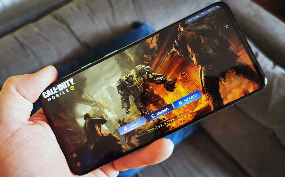 oneplus nord playing call of duty mobile