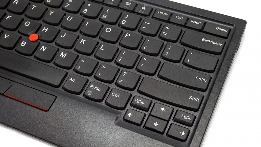 ThinkPad keyboard right side cluster