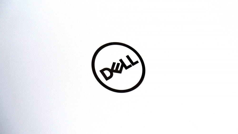 XPS 13 Dell logo