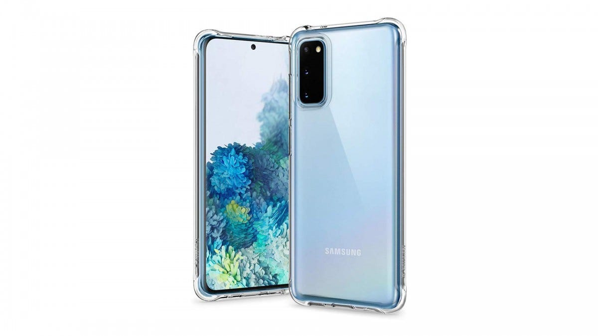 Caseology Solid Flex Crystal on the Samsung Galaxy S20