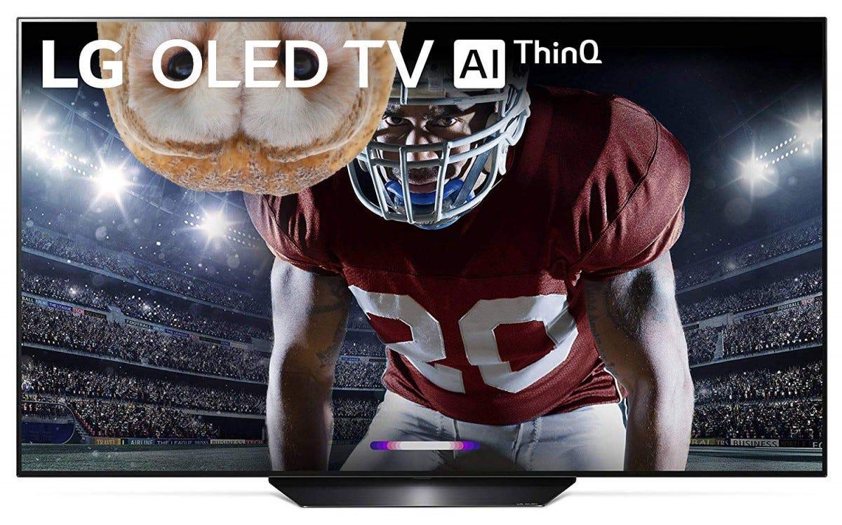 LG OLED65C9PUA television