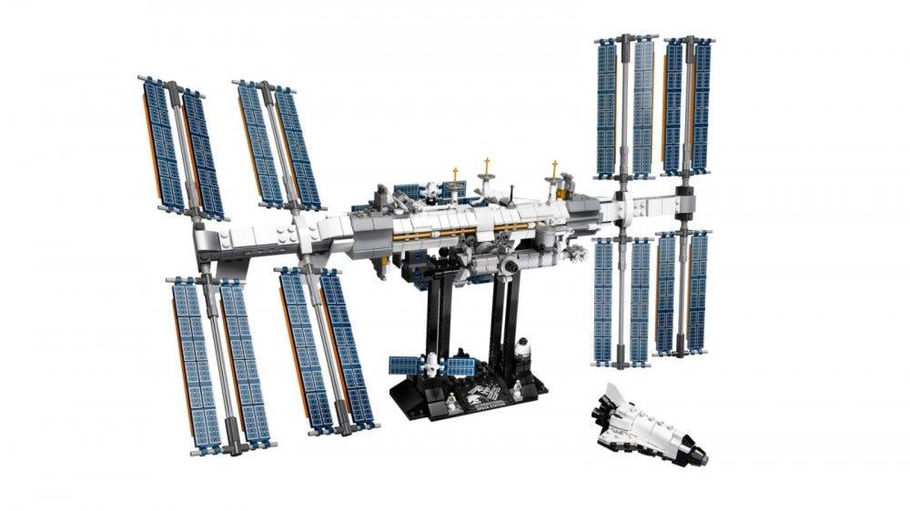 LEGO Ideas International space station set