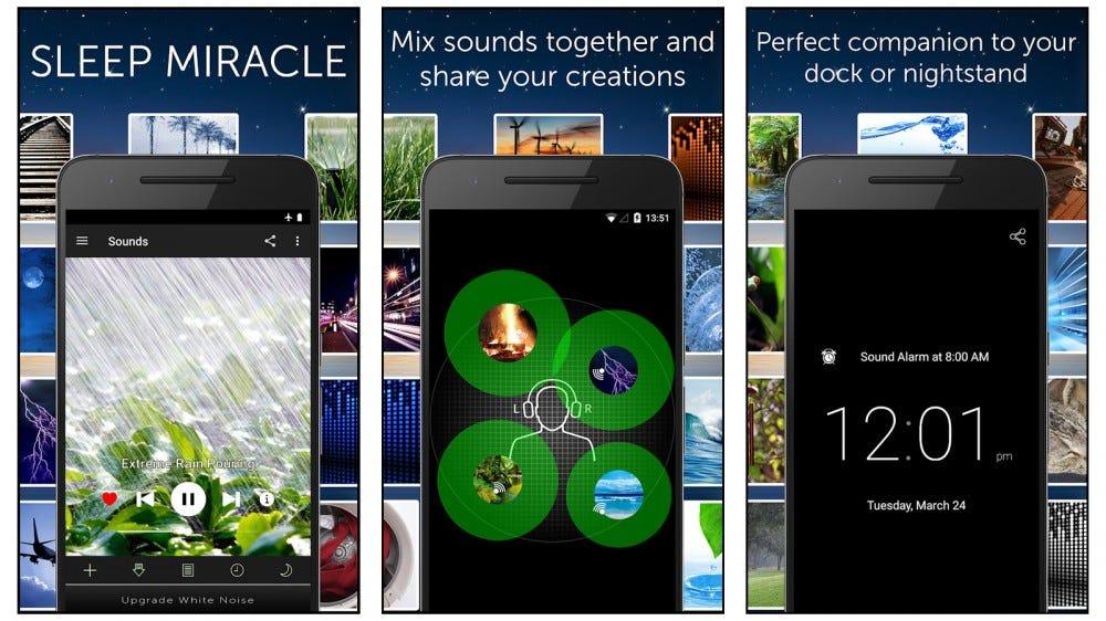 White Noise Lite mobile white noise app