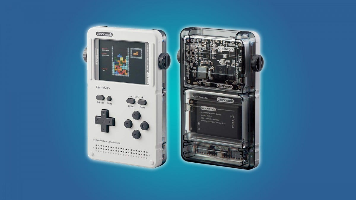 The GameShell is an excellent but pricey do-it-yourself portable game machine.