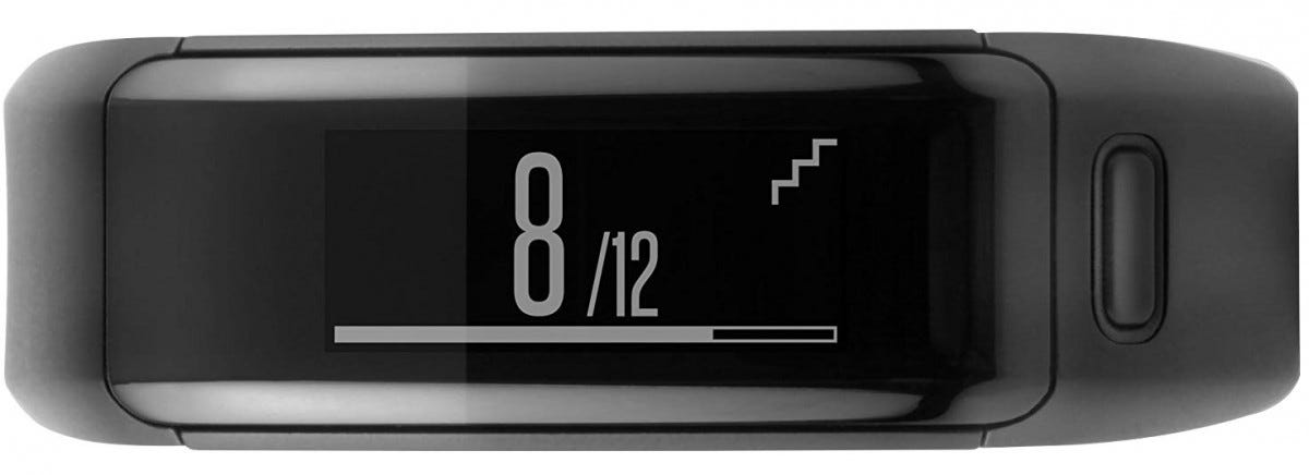 This Garmin tracker with heart rate tracking can be had for just over seventy bucks.
