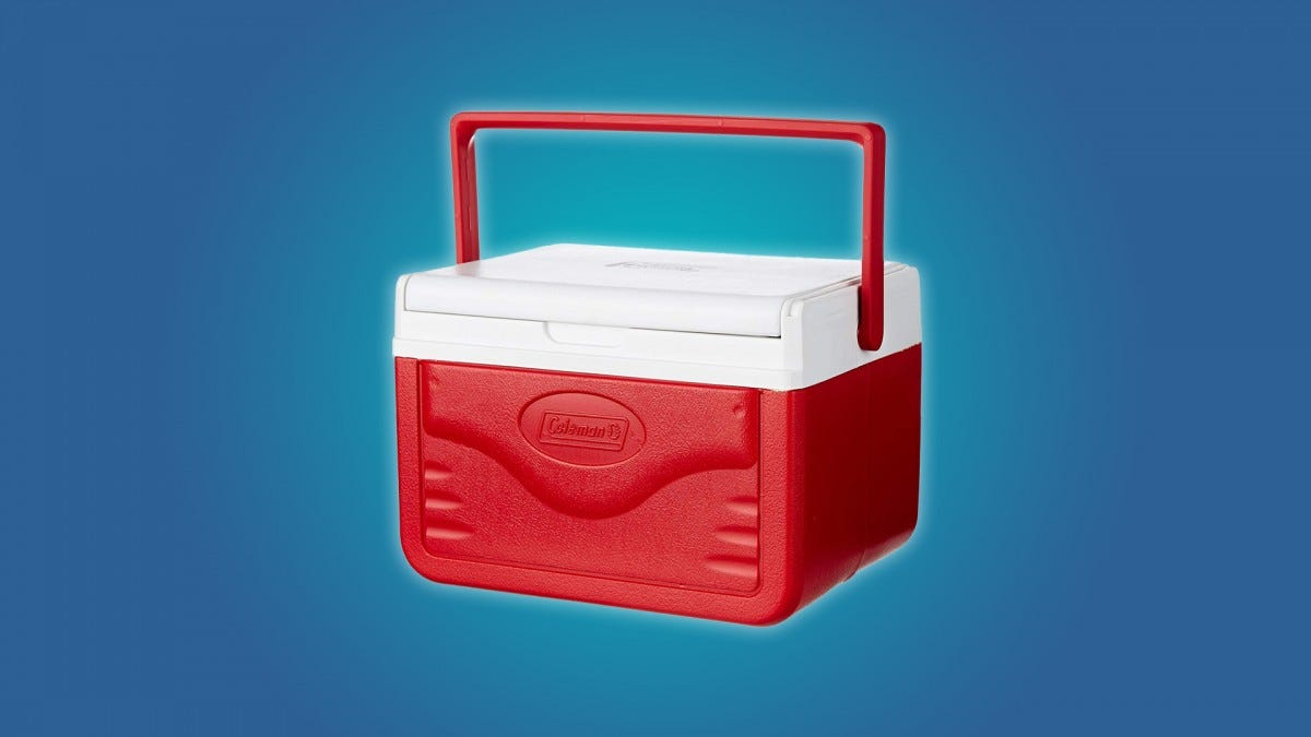 The Coleman Fliplid 5qt Cooler