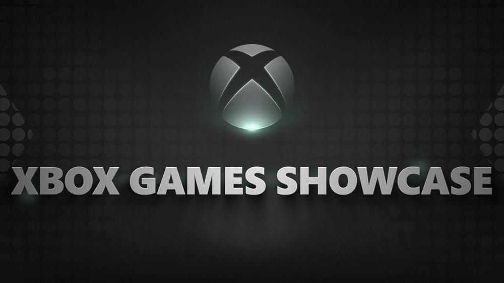 An illustration of the Xbox Games Showcase.