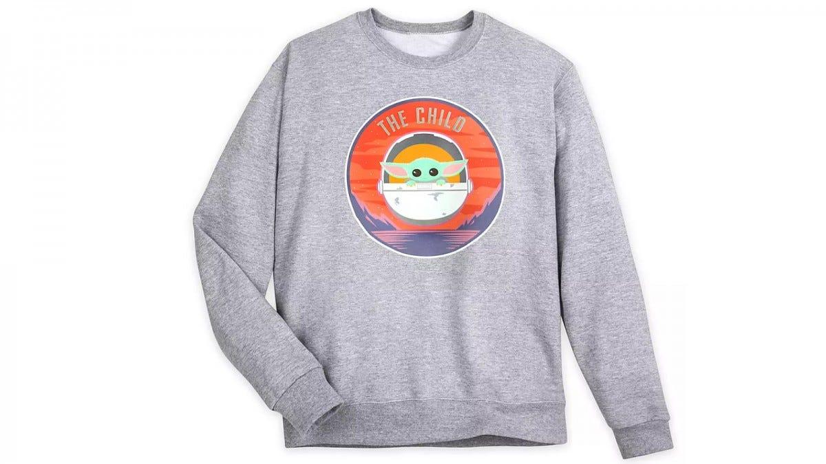 "Disney Store ""The Child"" Sweatshirt"