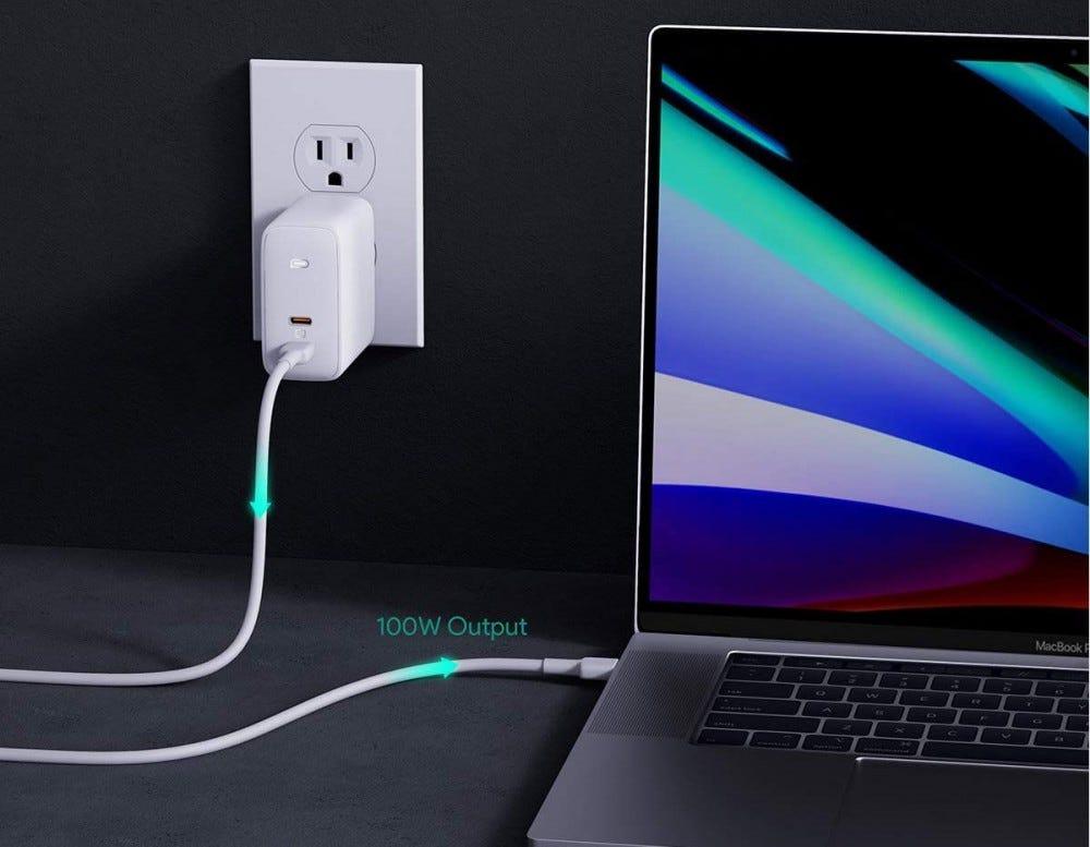 Aukey 100 watt charger