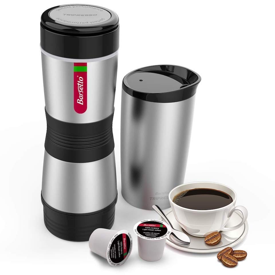 Barsetto portable espresso maker
