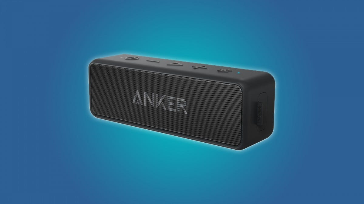 The Anker SoundCore 2 Bluetooth Speaker