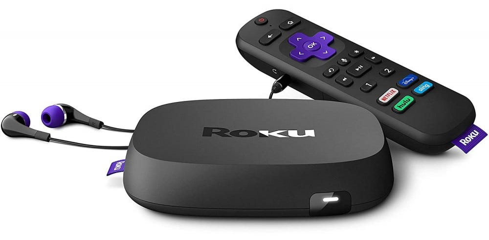 roku Ultra with remote
