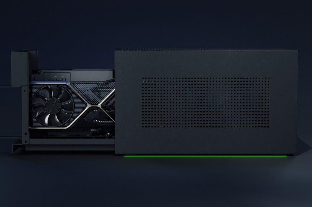 Razer Tomahawk GPU slider