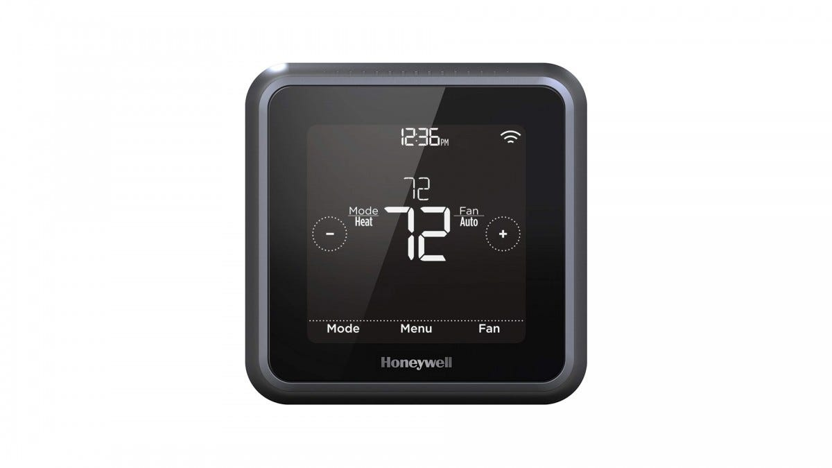 The Honeywell T5 Lyric Thermostat.