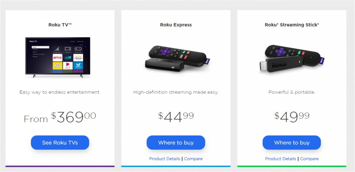"Roku Announces New $40 ""Premiere"" 4K Player, Upcoming Google"