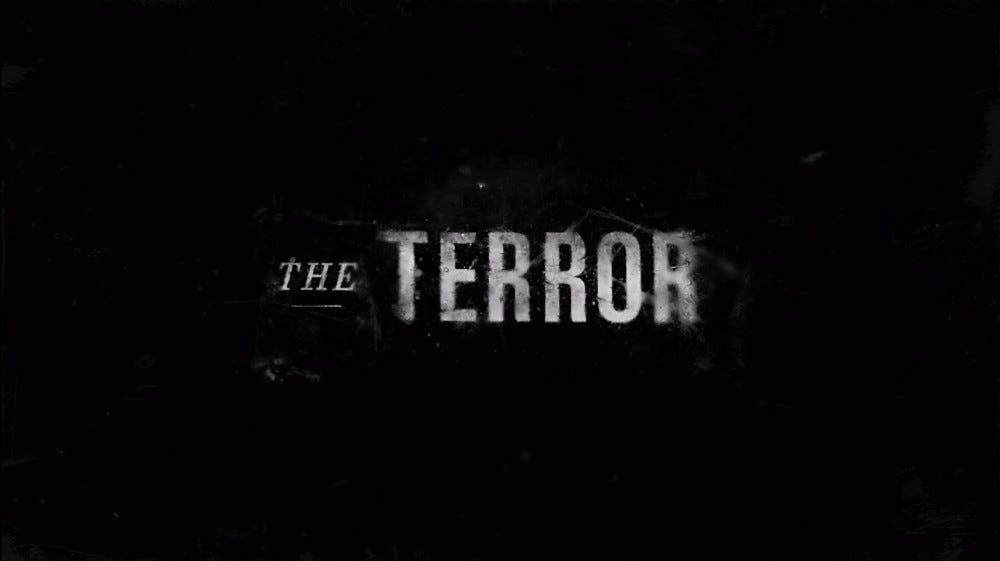 The Terror season one logo