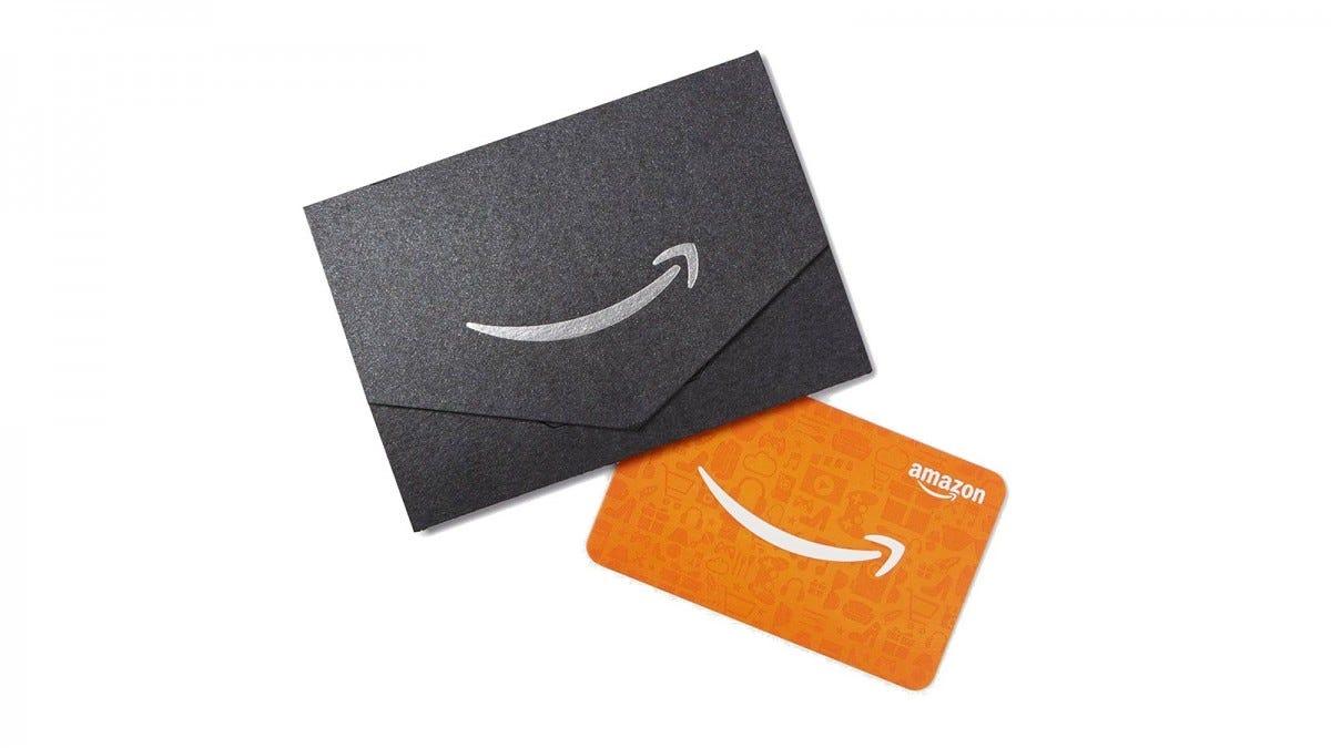 Amazon gift card.