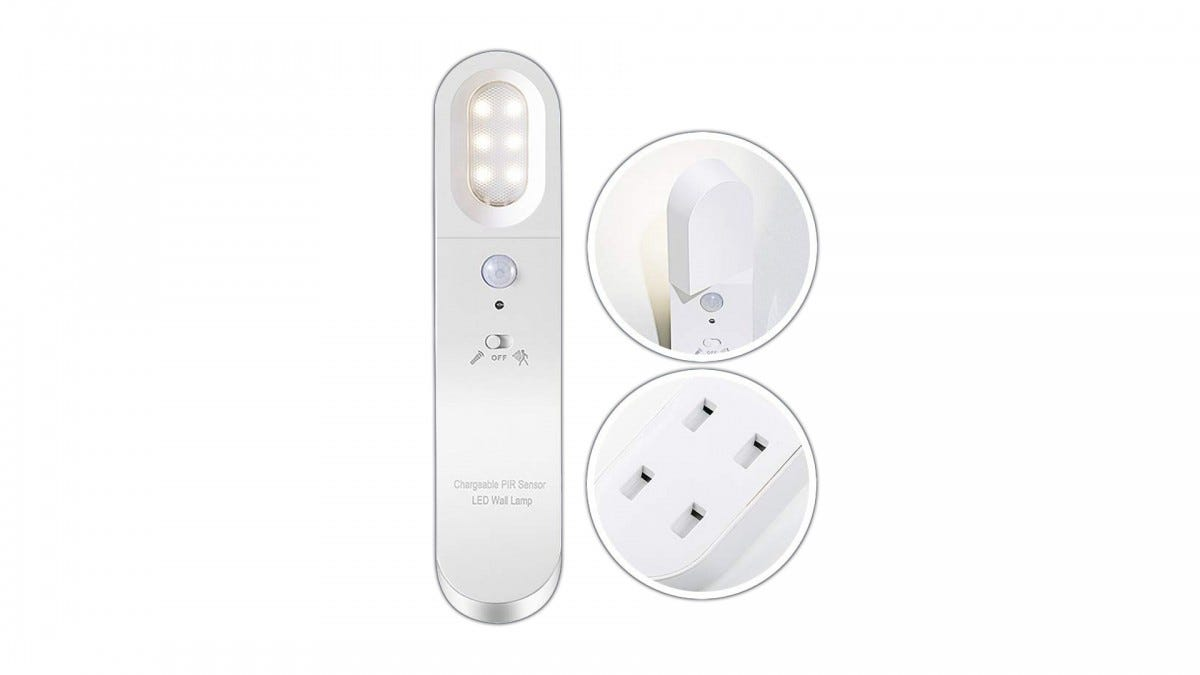 The Neporal Detachable Night Light and hanging plate.