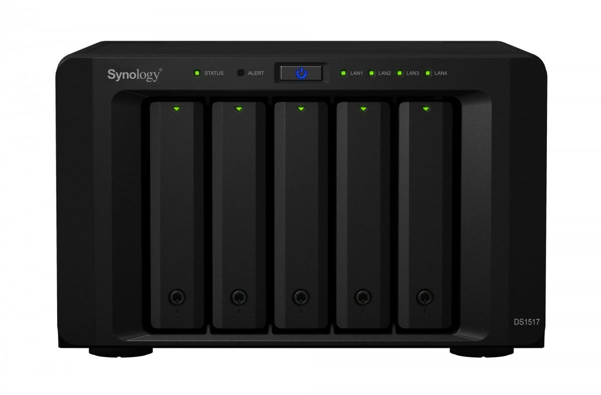 synology, ds1517, network attached storage, home office,