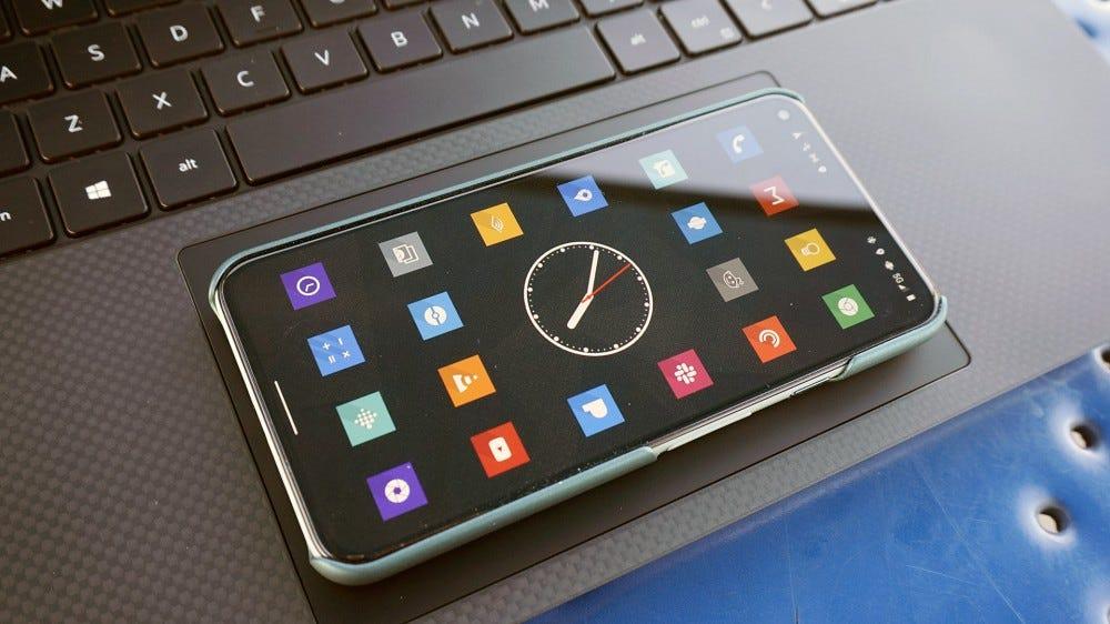 Pixel 5 phone.