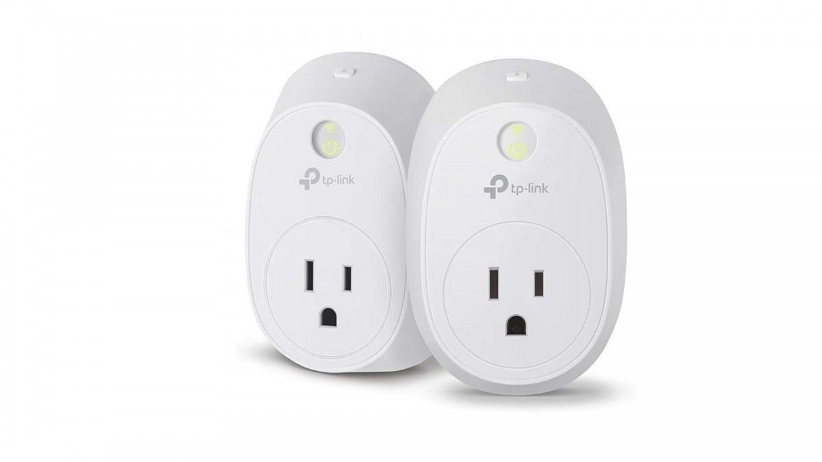 The TP-Link Kasa energy monitoring smart plug