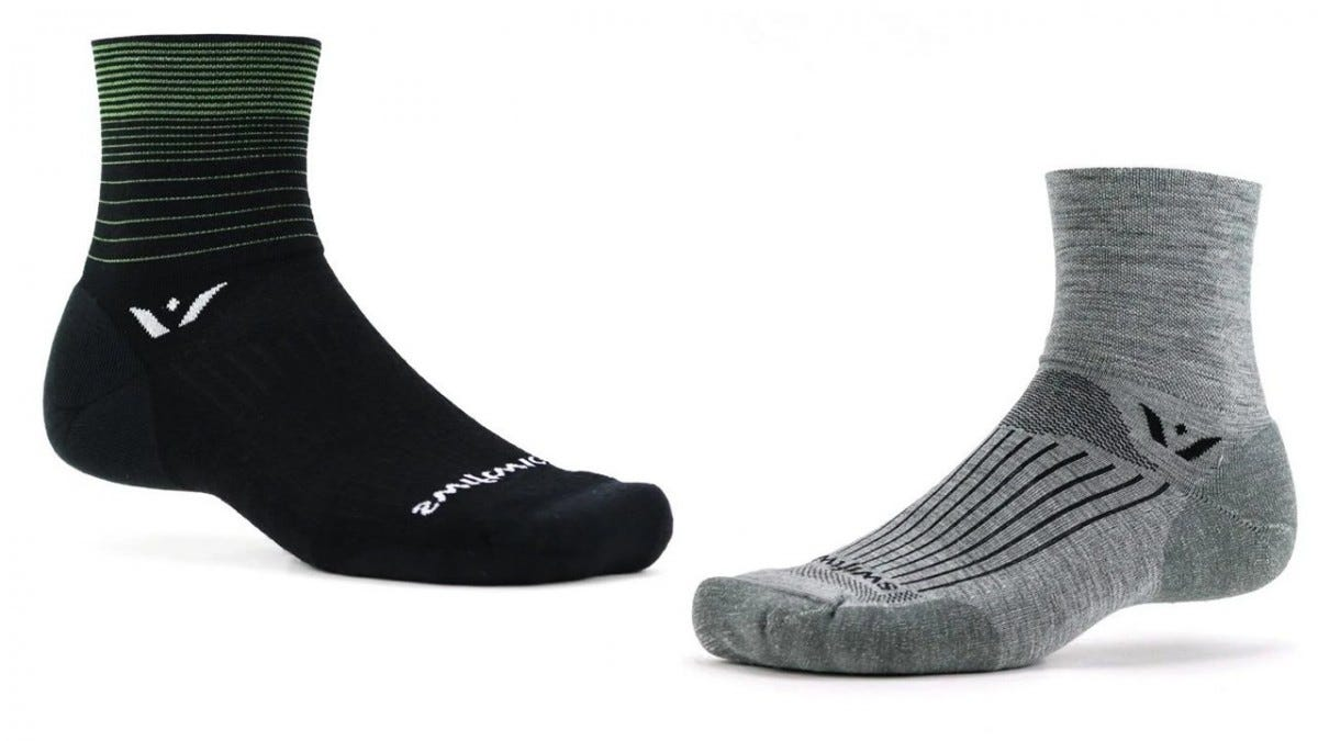 Swiftwick PURSUIT Four cycling socks