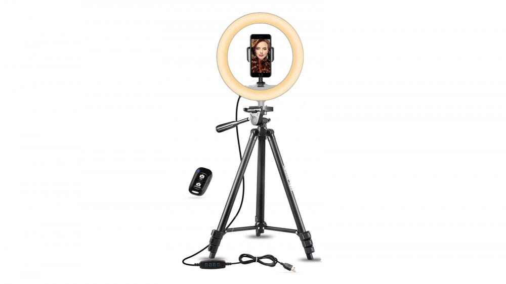 UBeesize 10-Inch Ring Light