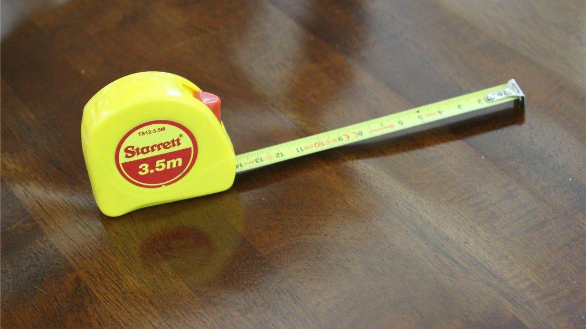 Starrett 3.5m tape measure.