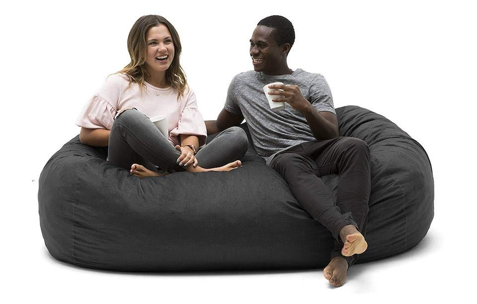 Astonishing The Best Large Bean Bag Chairs For Your Rec Room Dorm Room Pabps2019 Chair Design Images Pabps2019Com